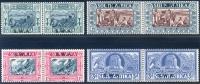 South West Africa 1938. Voortrekker Memorial Fund. SACC 132/5*, SG 105/8* - África Del Sudoeste (1923-1990)