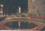 B33729 Firenze Square Of The Signoria Night View Used Good Shape - Firenze