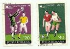 1974 - Romania 2846/47 Mondiali Di Calcio C905, - Coppa Del Mondo