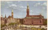 Unknown Raadhuspladsen Serie Nr 156 - Postkaarten