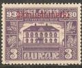 IJsland Dienst Ongest. 44 - Dienstzegels