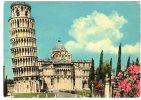 PISA - Torre Pendente E Abside Del Duomo. Viaggiata (anni '50/'60) - Pisa