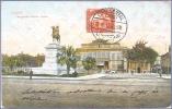 CAIRO - CAIRE: MONUMENT IBRAHIM PACHA - Annullo: HOTEL CONTINENTAL - CAIRO 12.III.10 - Alberghi & Ristoranti