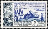 NOUV.-CALEDONIE 1954 - Yv. PA 65 * TB  Cote= 8,00 EUR - Libération ..Réf.NCE12167 - Neufs