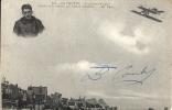 LE CROTOY : L'aviateur Poulet Bouclant  La Boucle... - TRES RARE CPA - AVEC DEDICACE De L'aviateur - Le Crotoy