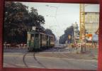 B632 Photo René Stevens Tramway  Centralbahnplatz Bâle Basel. 13.08.1973 Reproduite En 2007 - Reproductions