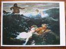 Bocklin, Arnold Spiel Der Wellen Munich Munich Art Postcard - Peintures & Tableaux