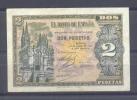 """EDIFIL D29  """"2 PTAS 30 DE ABRIL DE 1938"""" - [ 3] 1936-1975 : Régence De Franco"""