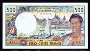 FRENCH PACIFIC TERRITOIRES 1992  500 FRancs UNC - Papeete (Polynésie Française 1914-1985)