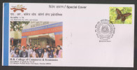 India 2010  H.R.COLLEGE OF COMMERCE & ECONOMICS (FOR YOUTH) Cover #29066  Inde Indien - Unclassified