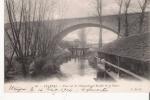 ETAMPES 50  PONT SUR LA CHALOUETTE ET MOULIN DE LA DIGUE  1904 - Etampes