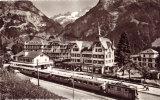 Grindelwalt (1037m) Bahnhofplatz Mit Finsteraar. U. Fiescherhorn - Unclassified