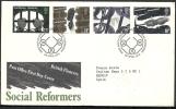 1976 GB FDC SOCIAL REFORMERS - 007 - FDC