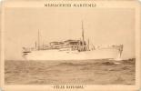 MESSAGERIES MARITIMES PAQUEBOT LE FELIX ROUSSEL - Steamers
