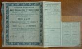 EXPOSITION INTERNATIONALE DES ARTS DECORATIFS ET INDUSTRIEL MODERNES PARIS 1925 - Tickets - Entradas