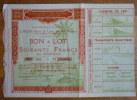 EXPOSITION COLONIALE INTERNATIONALE PARIS 1931 - Tickets - Vouchers