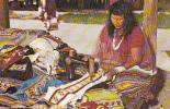 Tamiami Trail Florida Floride - Art  Craft - Indian Village Indien - Woman Femme - United States