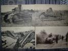 Lot  De Carte Postal Char Renault - Weltkrieg 1914-18
