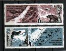 Serie Completa De URSS  Rusia Año 1966 Yvert Nr.3115/16   Nueva - 1923-1991 USSR
