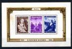 Bloc VAN DER WEYDEN  Vendu Pour Les Timbres   BF 28**  Cote 170 E  Christ En Croix RELIGION - Blocks & Sheetlets 1924-1960