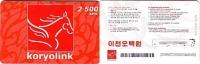 NORTH KOREA____genuine Prepaid Card____Koryolink___RRR - Corée Du Nord