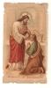 IMAGE PIEUSE 7x12,5 . SOUVENIR DE COMMUNION - Devotion Images