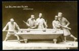 Lot De 2 CPA. CARICATURE GUERRE 1914-18. Sculpt. Signée J.G. Achard. LE BILLARD DES ALLIÉS/ JEU DE QUILLES. - Patrióticos