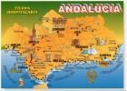 Espagne - Andalucia (Andalousie), Carte - Spanien