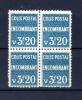 3F20 Colis-postaux Encombrant,  173**en Bloc De 4      Cote 80 €, - Neufs