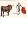 2691 Pase De Tanteo Bull Fighter Fighting Matador Torero - Cartes Postales