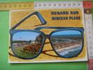 47) Mimizan Plage ;regard(lunettes) Eglise Et Jardins,vue Generale  : Multivues - Mimizan Plage