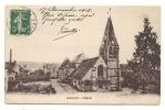Liancourt (60) : L'église Et Les Abords En 1915. - Liancourt