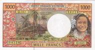 Q 043 Caledonie Caledonia Billet Coin Note Monnaie IEOM 1000 F Signatures 2011 Neuf UNC - Nouméa (New Caledonia 1873-1985)