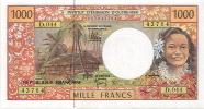 D.044 Caledonie Caledonia Billet Coin Note Monnaie IEOM 1000 F Signatures 2011 Neuf UNC - Nouvelle-Calédonie 1873-1985