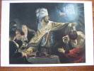 Rembrandt Van Rijn  Belshazzar's Feast National Gallery London Art Postcard - Malerei & Gemälde