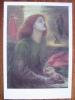 Rossetti, Dante Gabriel  Beata Beatrix 1864-70 Tate Gallery London Art Postcard - Peintures & Tableaux