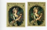 Marie Antoinette-peinture De Vigée Lebrun-Tchad-MI 357***MNH-Dentelé Et Non Dentelé-valeur 21 Euro - Non Classificati