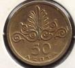 GRECE 50 LEPTA 1973  SPL_UNC - Grecia