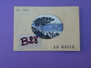 44 LA BAULE LE POULIGUEN Livret 12 Pages Horaires Des Marées (peinture, Voilier) TEXTE De André DELCORTE Années 1930 ? - Tourisme