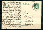 """German Empires,DR 1927 Ganzsache Mi. Nr.P170 """"Berühme Deutsche:Friedrich Von Schiller,Schriftsteller"""" 1 GS Used - Schriftsteller"""