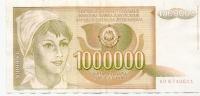 1 000 000 Din - 1989 - Yougoslavie