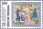 VATICANO  - 1996 - 700º Anniversario Del Ritorno Di Marco Polo Dalla Cina - 350 L. • Marco Polo E Il Gran Khan -  US - Oblitérés