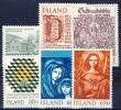 #Iceland 1984. 6 Different. MNH(**) - Islande