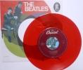 BEATLES Sp JUKE BOX USA - Vinyle Rouge  - *SHE LOVES YOU +1* - Collectors