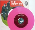 BEATLES Sp JUKE BOX USA - Vinyle ROSE  *ALL YOU NEED IS LOVE +1* - Collectors