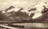 Bernina-Bahn Mit Piz Cambrena U. Lago Nero - Zwitserland