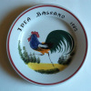 Bassano - Assiette  Au Coq - Rooster Plate- Haan Bord - Hahn  (SE313) - Bassano (ITA)