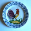 Bassano - Assiette  Au Coq - Rooster Wall Plate- Haan Sierbord - Hahn  (SSE315) - Bassano (ITA)