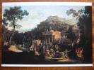 Schinkel, Karl Friedrich  Ancient Town On A Mountain National Gallery Berlin Art Postcard - Paintings