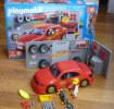 PLAYMOBIL BOITE 4321 Presque COMPLETE Manque 1 Autocollant Et La Notice VOITURE ET ATELIER TUNING - Playmobil